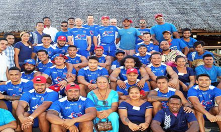Toa Samoa Chooses Return to Paradise Resort for Camp