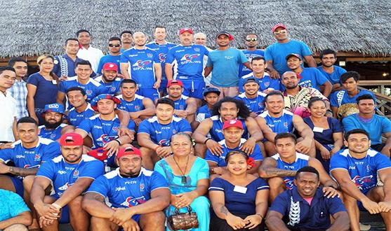 Toa Samoa Chooses Return to Paradise Resort for Camp