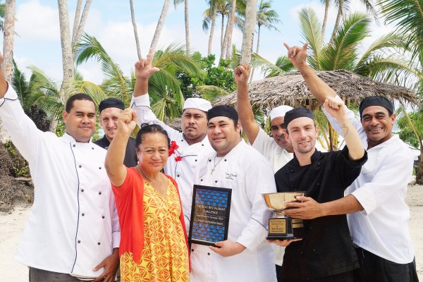 'Return to Paradise' take out culinary award